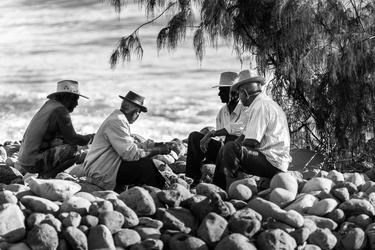 Les pêcheurs de la Rivière